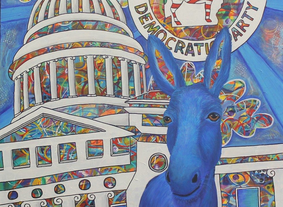 Funky Donkey on Capitol Background