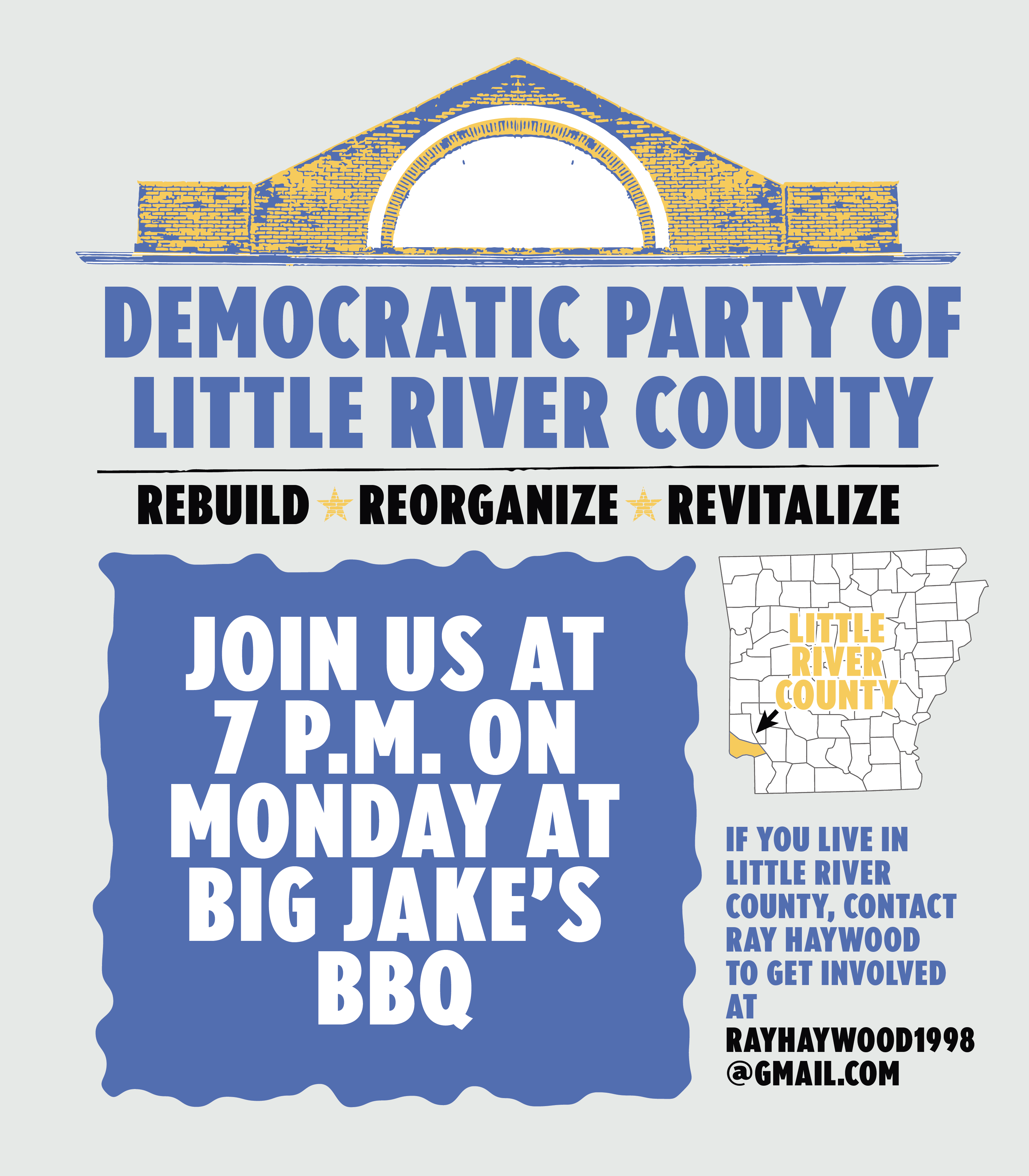 The Democratic Party of Little River County is back.